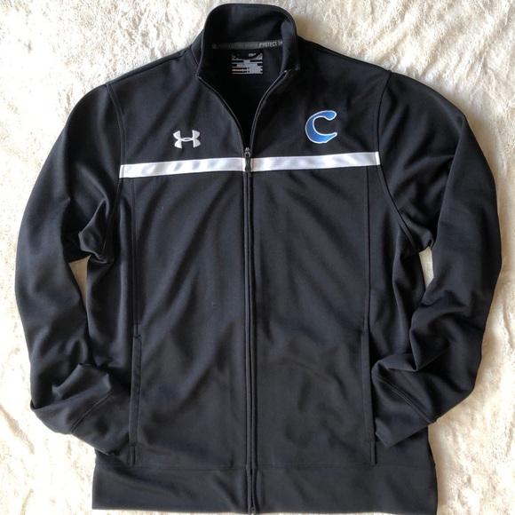 Black Under Armour Loose Athletic Zip jacket